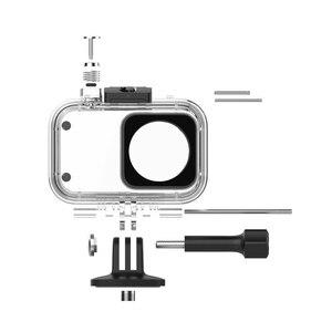 Image 4 - Original Xiaomi Camera Diving Case 40m Waterproof Protector for Xiaomi Mini Sport Action Camera 4K IP68 Rating Anti fog Film
