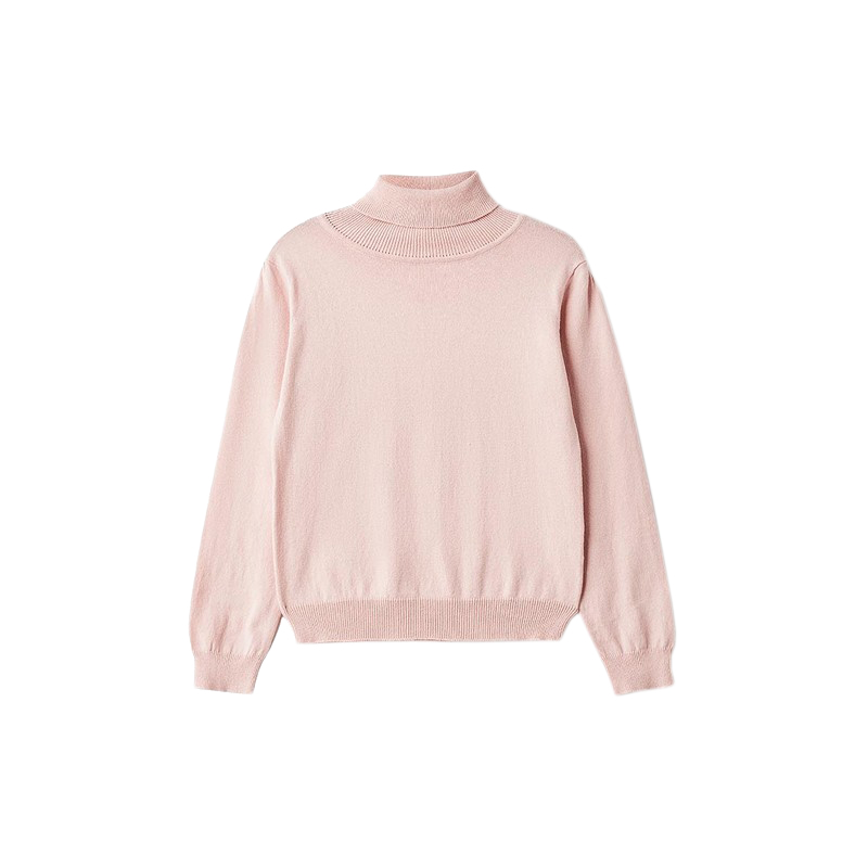 Sweaters MODIS M182K00384 jumper sweater pullover for girls kids clothes children clothes TmallFS sweaters modis m181w00463 woman sweater jumper turtleneck pullover for female tmallfs