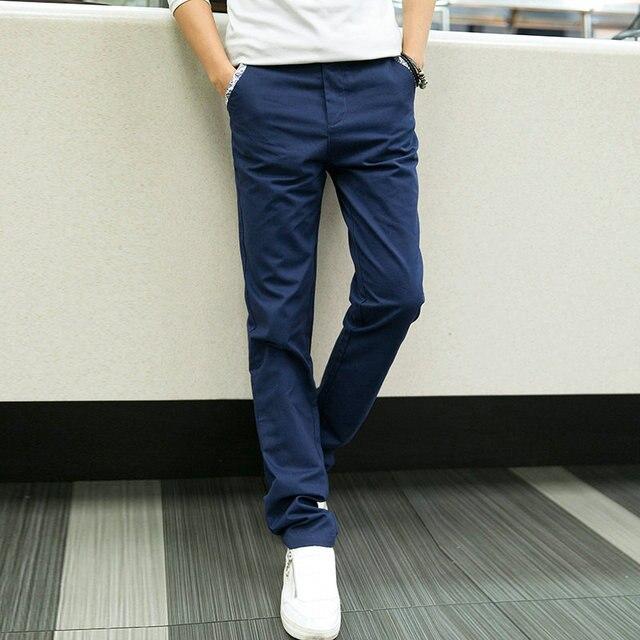 Досуг Брюки Мужчин 2017 Slim Fit Моды Твердого Молния Осень Летние Тренировочные брюки Мужчины