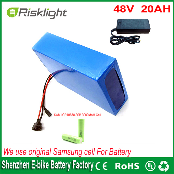 ebike lithium battery 48v 20ah lithium ion bicycle 48v  1000w bafang electric scooter battery for electric bike For Samsung cell 48v 34ah triangle lithium battery 48v ebike battery 48v 1000w li ion battery pack for electric bicycle for lg 18650 cell