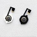 Para iphone 4 4g botão home flex cabo reparação peças de reposição new frete grátis + ferramentas gratuitas preto/branco