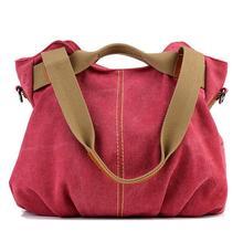 Fashion Women Single Shoulder Bag leisure canvas bag Lady handbag women messenger bags