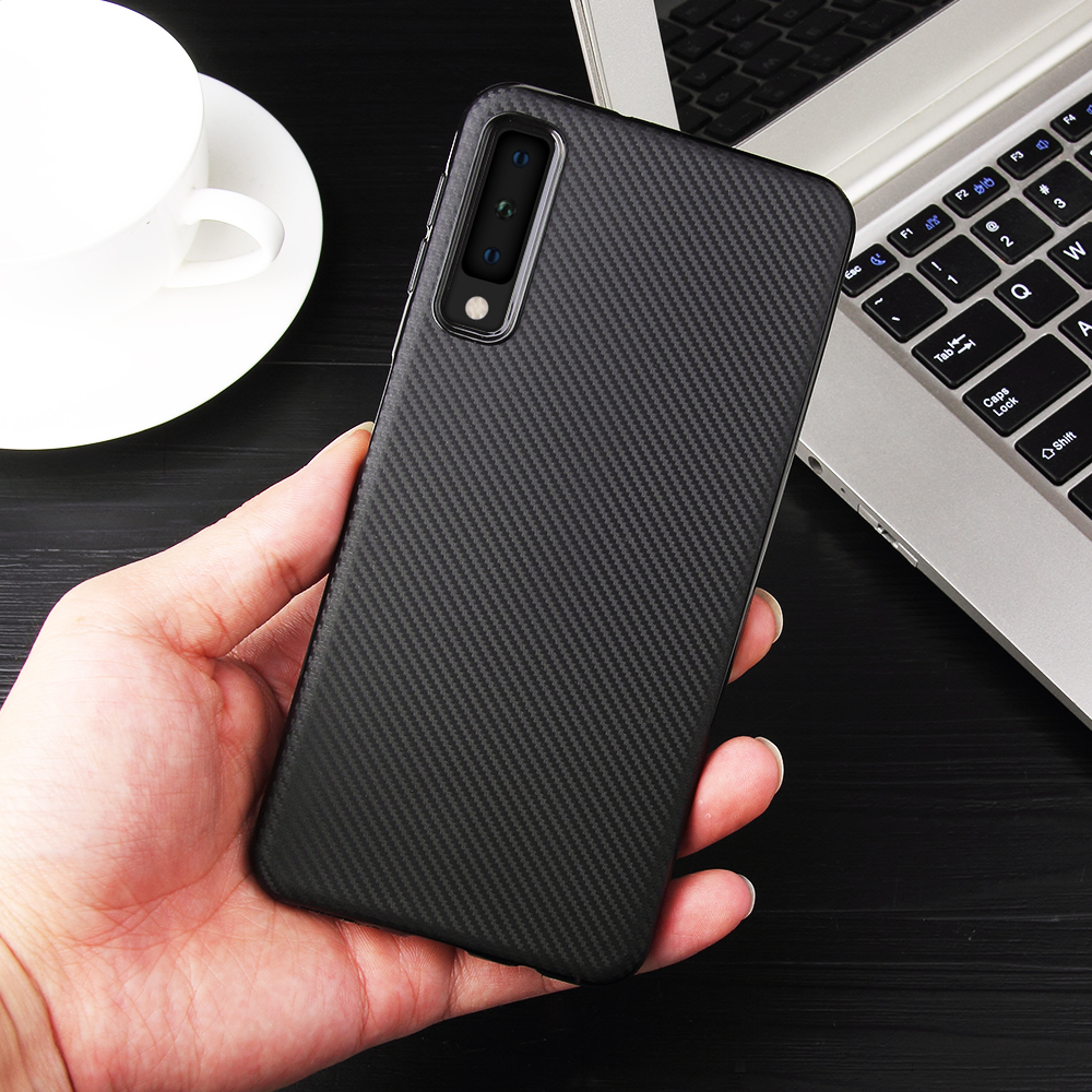 Diamond Grid Carbon Silicone Soft Case For Samsung Galaxy S10 E S8 S9 Plus J4 J6 J8 A6 A8 + A9 A7 2018 A3 A5 J3 J5 J7 2017