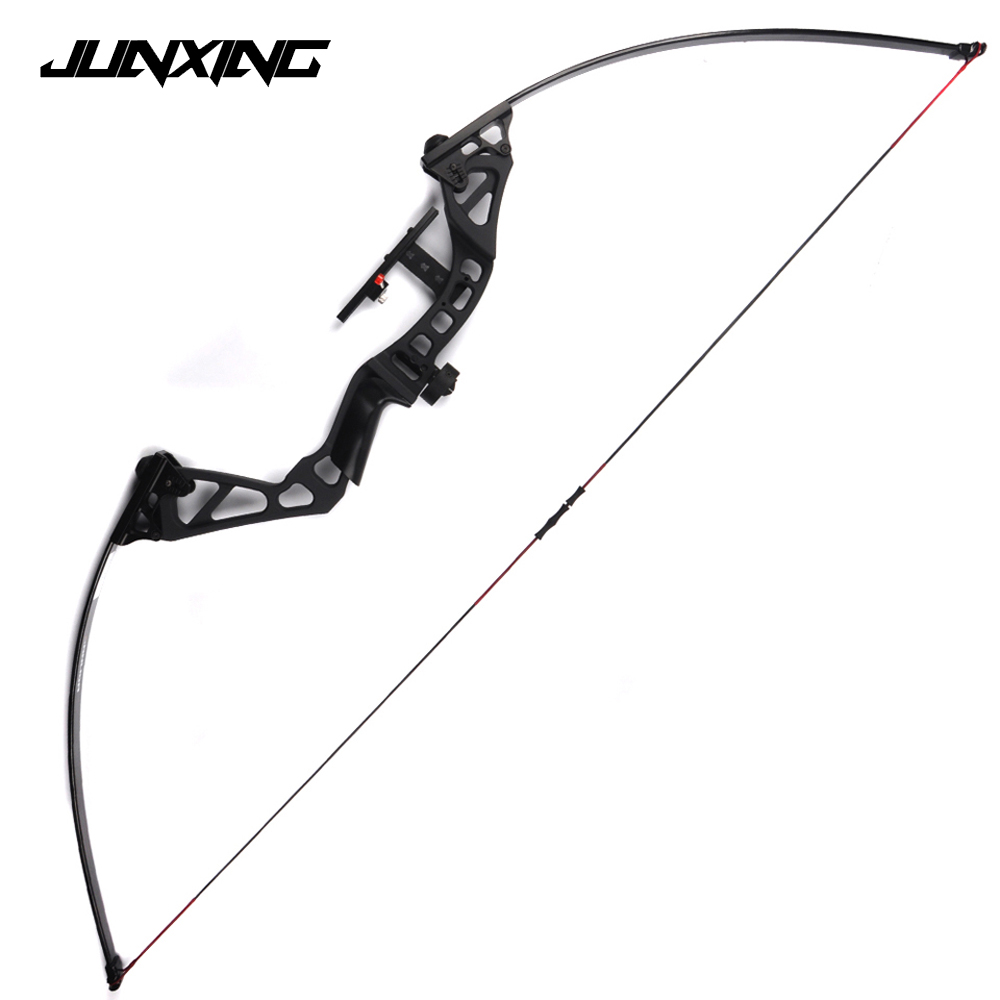 Straight Pull American Recurve Bow Length 60 Inches 30-50 Pounds Adjustable Hunting Bow 60 hanks stallion violin horse hair 7 grams each hank 32 inches in length
