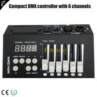 Little Console incl 6 DMX512 Channels Program Controller 6dmx Simple Operate Controllers for Stage Lighting Running