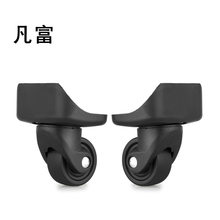 Suitcase wheels 1 Pair Swivel Universal Wheels For Any Bag Luggage accessories trolley Replacement caster