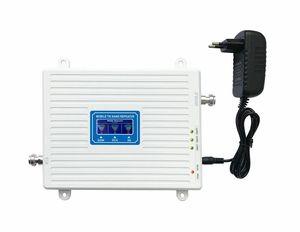 Image 5 - 2G 3G 4G 셀룰러 신호 리피터 GSM 900 WCDMA 2100 LTE 2600 트라이 밴드 70dB LCD 디스플레이 GSM 3G UMTS 신호 부스터 4G 증폭기
