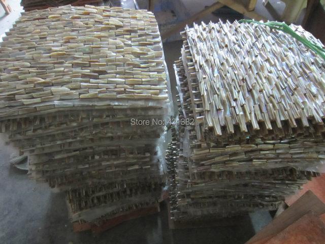 Großhandel 3D Perlmutt Fliesen, Dekorative Schale Mosaiken Versteift  Backsplash Fliesen Küche Badezimmer Wand Designs Ideen Fliesen