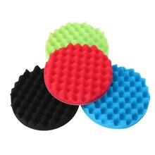 4pcs/set 8 inch 200mm Auto Car Polishing Sponge Buff Pad Kit for Waxing Polisher High Quality new