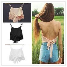 2015 Fashion Sexy Women Sleeveless Camisole Shirt Summer Casual Blouse Crop Tops Bra