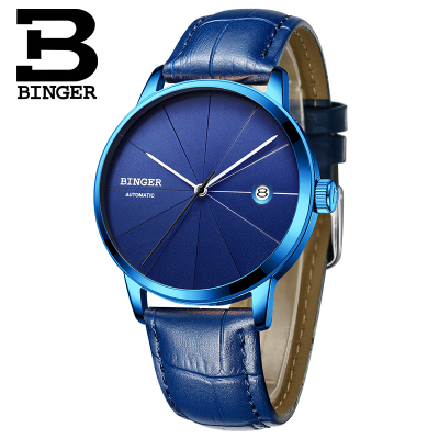 Binger 2017 stainless steel watch original luxury top brand new men skeleton automatic mechanical watches Relogio Masculino luxury watch brand agelocer vogue automatic watch steel luxury men s watch skeleton mechanical watch with original gift box