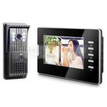 DIYSECUR 7″ Wired Video Door Intercom Vandalproof Camera 700TVL Night View Unlocking