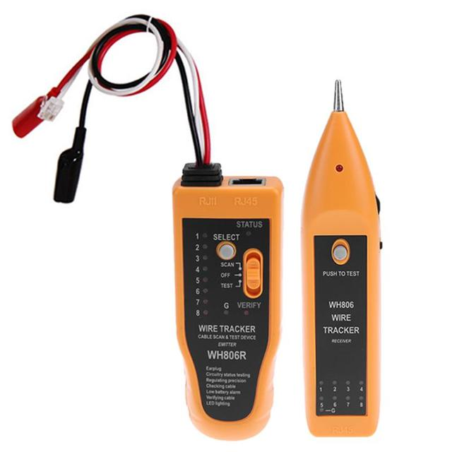 Network Cable Tester Telephone Ethernet LAN Cable Wire Tracer ...