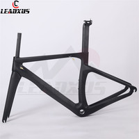 LEADXUS UAM240 Road Carbon Frame Mechanical or Di2 Road Bike Carbon Bicycle Frame+Fork+Seat Post+Headset+Clamp Size XXS/XS/S/M/L