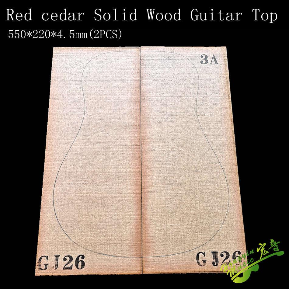 AAA Grade Red Cedar Solid wood Guitar Top 41 Inch DIY Wood Guitar Panel Handmade Guitars