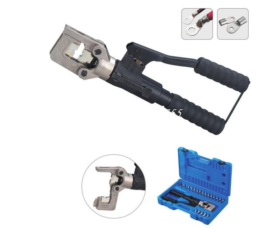 HT51 Hydraulic Tools Light And Handy Wire Cable Terminal Crimping Crimper 10-240mm2 saipwell hp 240 hydraulic crimping tools for copper and aluminum terminals 16 240mm2