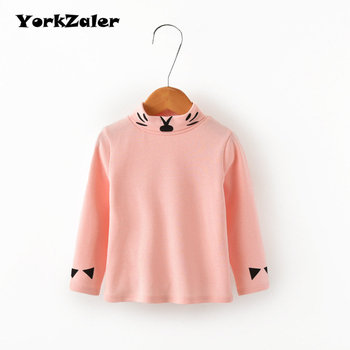 YorkZaler Kids Long Sleeve T-shirt Baby Boys Girls Clothes Autumn Fashion Children Solid Color Sweatshirt Pullover Tops