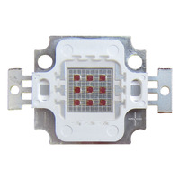 10W Square Base Infrared IR 940nm SMD LED Diodes Light Parts 5V 900mA FOR For Night