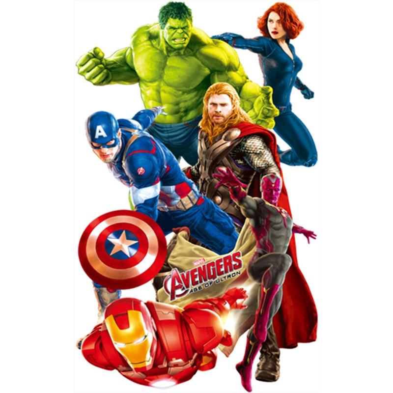 The avengers marvel poster super hero figures anime 3d - Poster super heros ...
