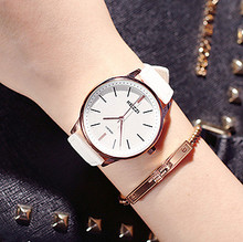 KEZZI Femmes De Mode Quartz Montres Lady Robe Montres Hommes Bracelet En Cuir Femme montres Femmes Horloges Reloj.