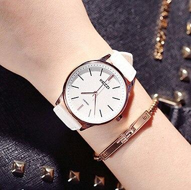 KEZZI Women Fashion Quartz Watches Lady Dress Wristwatches Men Leather Strap Female Wrist watches Women Clocks Reloj .