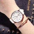 KEZZI relógio Das Mulheres de Quartzo Moda Relógios Lady Dress relógios de Pulso Dos Homens Pulseira de Couro relógios de Pulso Das Mulheres do Sexo Feminino Relógios Reloj.