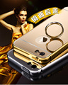 For Apple iPhone 5S 5 Gold Color Matel Frame Mirror Back Plate Luxury Case New Brand Phone Bag Cover For iPhone5S