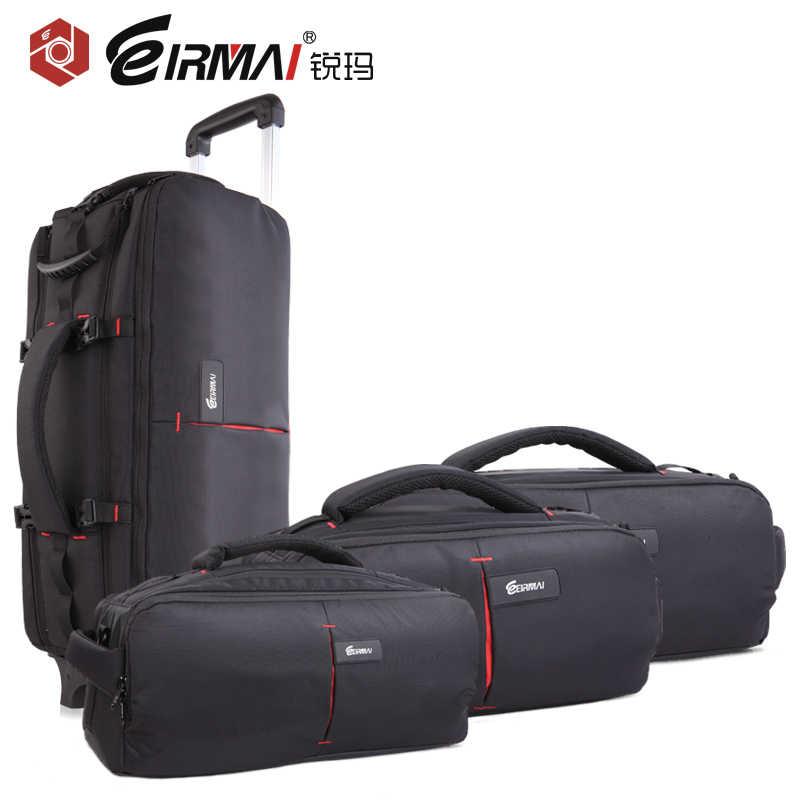 EIRMAI DSLR foto llevar hombro Nylon impermeable lluvia cubierta bolso de trípode para cámara lente acolchado funda bolsa para Canon Nikon Sony