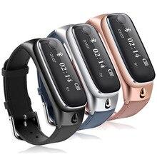 Мода M6Smart Браслет Спорт Smartband Браслет Сна Монитора, Вызов Напоминание Bluetooth Гарнитуры Наушники