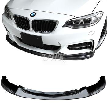 UHK 1 Series F20 3D Style Carbon Fiber Front Bumper Lip Accessories Bodykit Protector Car Racing 2012 2013 2014 2015 Splitter