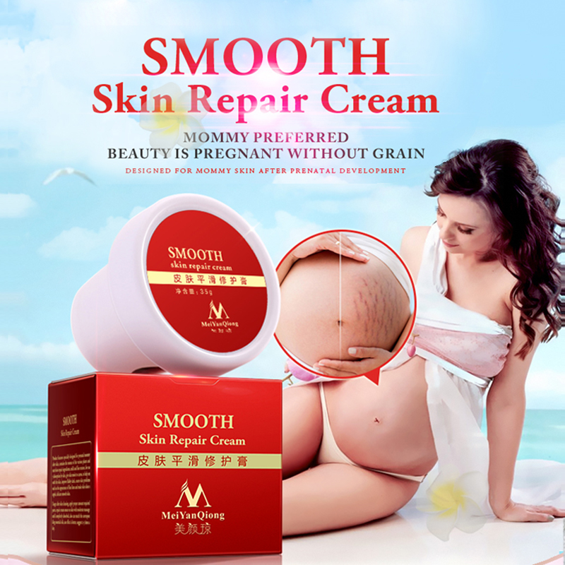 MeiYanQiong Smooth For Stretch Marks Maternity Skin Repair Body Cream Remove Scar