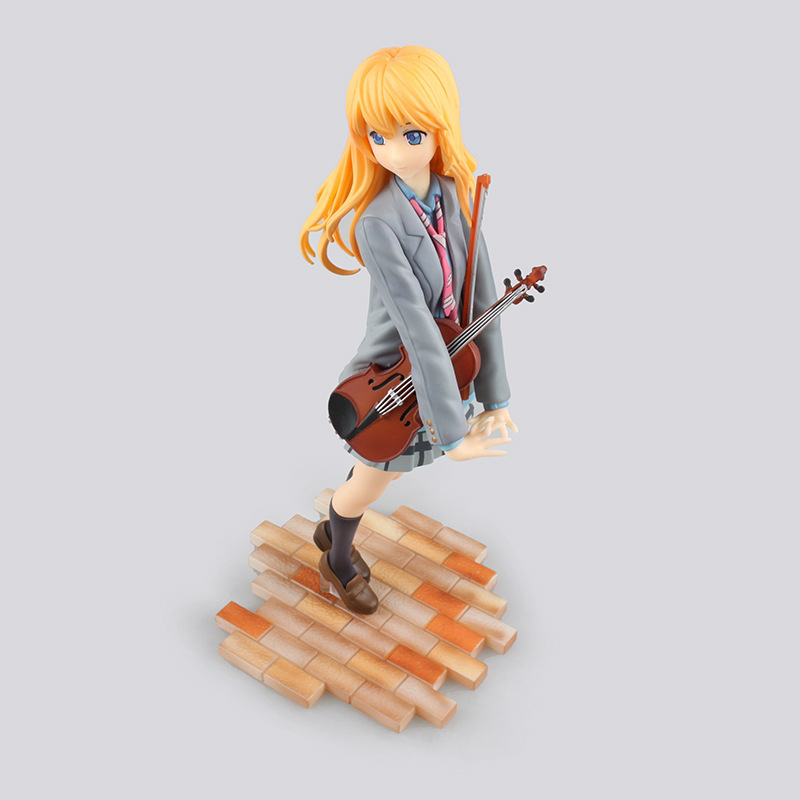 high quality GSC Your Lie in April Miyazono Kaori action figure model toys 1/8 scale Miyazono Kaori decoration pvc toys 3