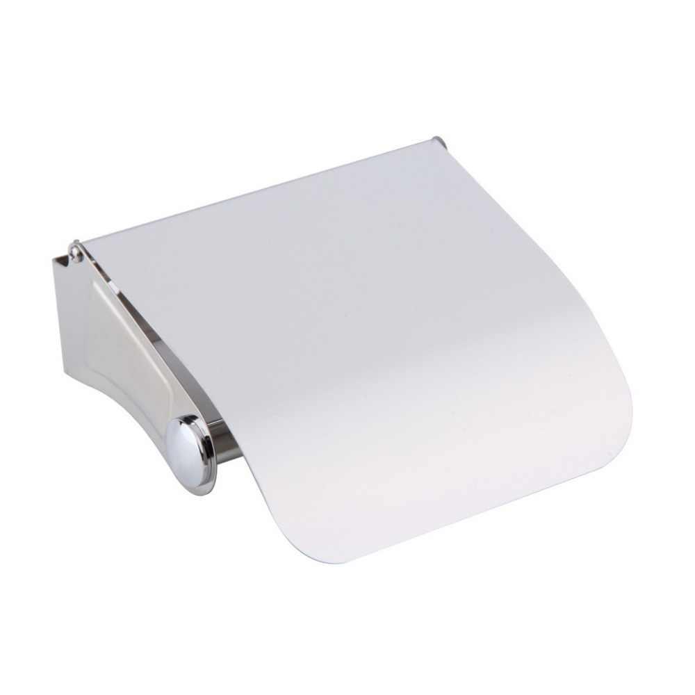 Niesamowite trwałe akcesoria łazienkowe uchwyt na papier toaletowy ze stali nierdzewnej pudełko na chusteczki rolkę papieru pojemnik na pudełko