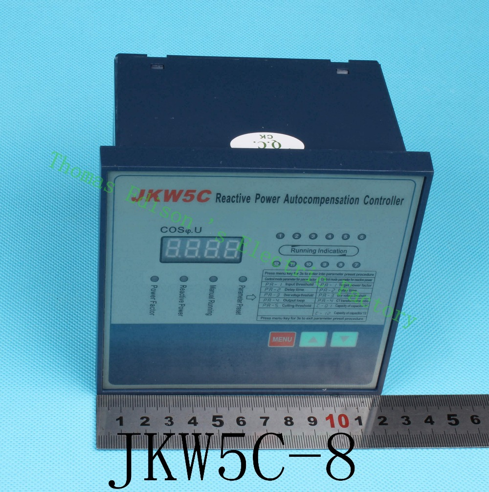 цена на JKW5C-8 Intelligent Reactive Power Autocompensation Controller compensation JKW5C