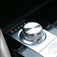Gear knob shift head knob cover sticker for range rover sport voge evoque land rover discovery sport parts car styling