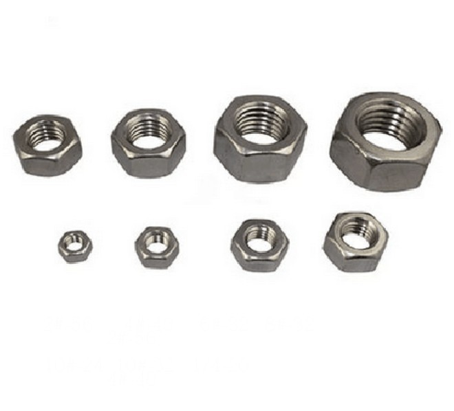 Quantity of 10 Coupling Nuts Stainless Steel #8-32 X 5//16 x 1//2 Threaded Rod UNC