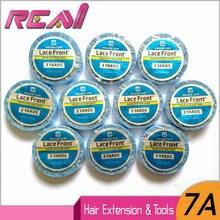 Двусторонняя лента для волос 10 рулонов 08 см * 3 ярдов клейкая