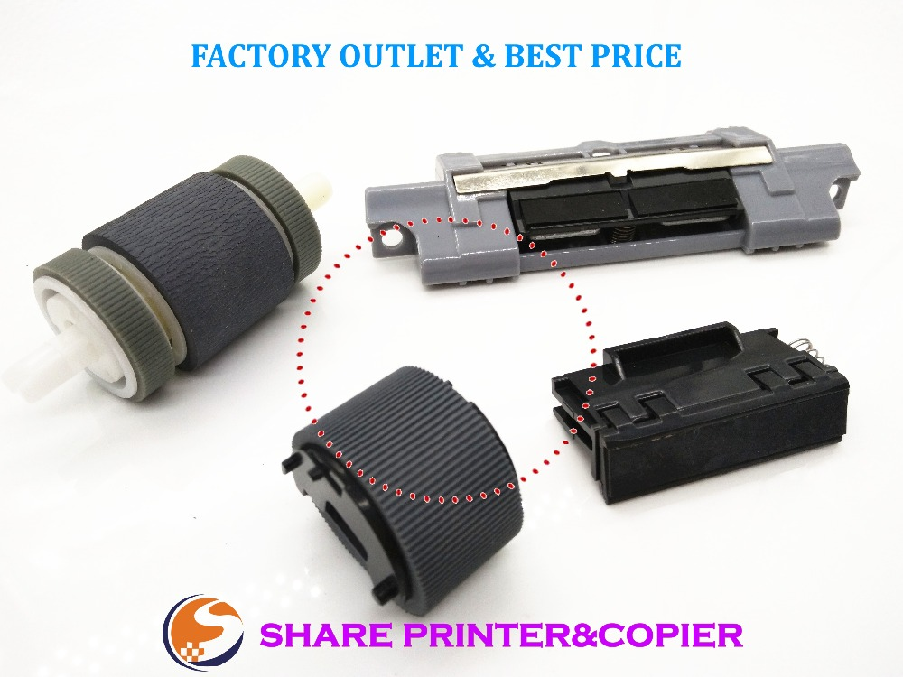 Replace Roller Kit for HP LaserJet P2030 P2035 P2050 P2055 Pro 400 - M401 / M425 MFP RL1-2115-000 RL1-2120-000 RM1-9168 RM1-6467 rl1 0019 000 roller kit tray 1 for hp laserjet 4700 4730 cp4005 4200 4250 4300 4350 4345