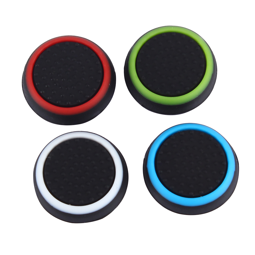 32pcs Silicone Colorful Cap Thumb Stick Joystick Grip Thumbstick Cap Cover For Sony PS4 PS3 Xbox 360 Xbox One Controller L3FE