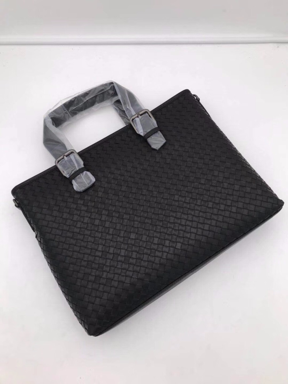 New Pattern Men's Briefcase Portable The Single Shoulder Bag Business Affairs High-capacity Internal And External Dermis