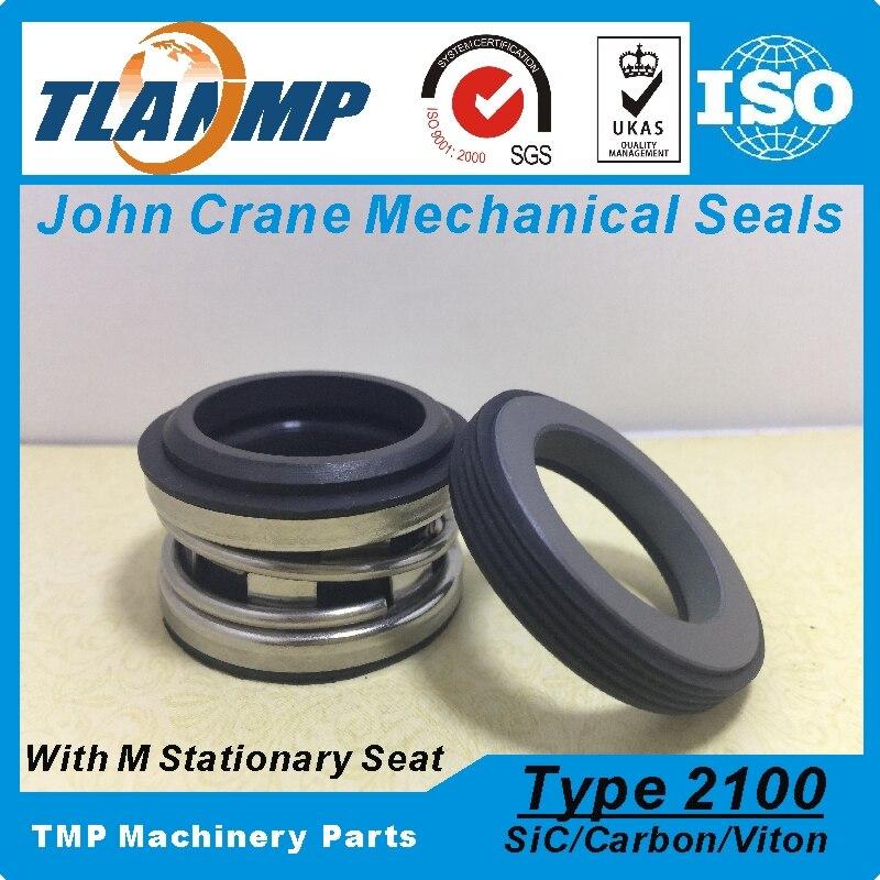 Tipo 2100-1-38 , TJ-0380 , T2100-38 , 2100-38 (l3) j-crane elastômero fole selos mecânicos (material carbono/sic/vit)
