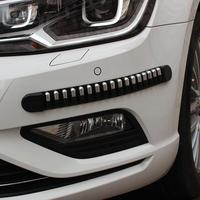 2016 Hot Sale 4pcs Car Bumper Anti Rub Strips Exterior Scratches Protector Decoration Cover Very Practical