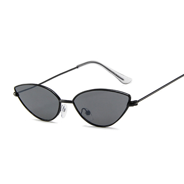 Cute Sexy Cat Eye Sunglasses Women Retro Small Black Red Pink Cateye Sun Glasses Female Vintage Shades For Women 4