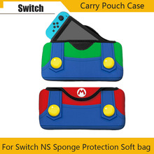 Portable Sponge Protection Soft Case for Carrying Storage Bag for Nitend Switch NS Console Accessories Game Console Box Bag yuxi soft portable bag nintend switch carrying game storage case protector for nintendo switch ns console