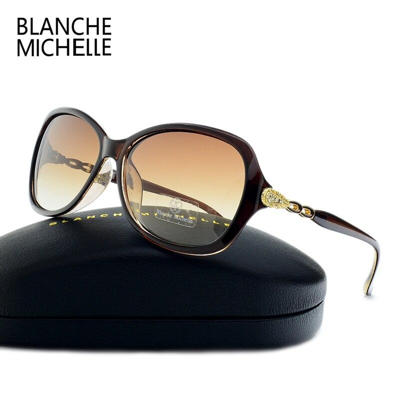 Blanche Michelle Luxury Butterfly Sunglasses Women Polarized UV400 Gradient Lens Sunglass Brand Designer Sun Glasses With Box 3