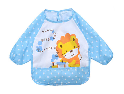 Cute-Infant-Kid-Baby-Feeding-Burp-Apron-Long-Sleeve-Waterproof-Smock-Toddler-Clothes-Bibs-4