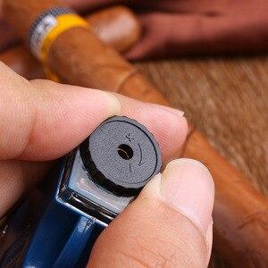 Image 5 - שני חרירים ריתוך לפיד בוטאן סילון גז מצית טורבו נייד תרסיס אקדח 1300 C Windproof סיגר צנרת Lighter חיצוני