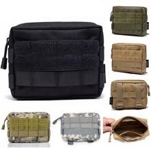 CQC Outdoor militar Molle utilidad EDC herramienta cintura paquete táctico médico botiquín de primeros auxilios carcasa de teléfono con soporte bolsa de caza