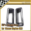For Nissan Skyline R33 Carbon Nismo N1 Style Front Bumper Vents Air Duct