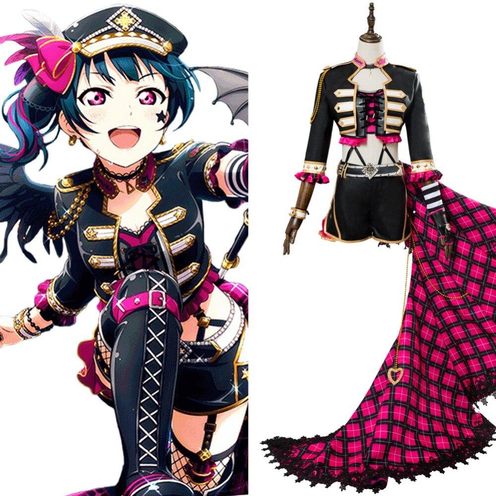 Anime Love Live Lovelive Aqours Tsushima Yoshiko Cosplay Costume